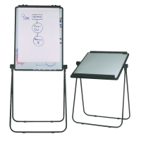 NOBO REVERSIBLE WHITE BOARD 950X675MM - EACH