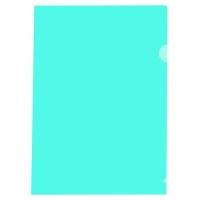 MARBIG LETTER FILE  ULTRA CUT FLUSH POLYPROPYLENE A4GREEN - BOX  OF 100
