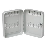 CELCO KEY CABINET 20 KEYS GREY - EACH