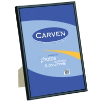 CARVEN QFWDBLKA4 DOCUMENT FRAME A4 BLACK - EACH