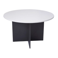 RAPID WORKER 900 ROUND X730H TABLE WHITE - EACH