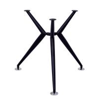 RAPIDLINE 770D STEEL ROUND TABLE FRAME BLACK - EACH