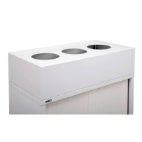 RAPIDLINE PLANTER BOX 900MM WIDE INCLUDING METAL DRIP TRAY WHITE - EACH