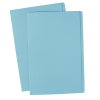 AVERY LIGHT BLUE MANILLA FOLDER, FOOLSCAP, 100 FOLDERS