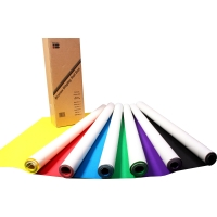 BRENEX DISPLAY ROLLS 70GSM 760MM X 10M ASSORTED COLOURS - BOX OF 6