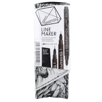 DERWENT GRAPHIK LINE MAKER BLACK - PACK OF 3