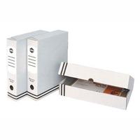 MARBIG - BOX FILE CARDBOARD A4 85MM  GREY - EACH