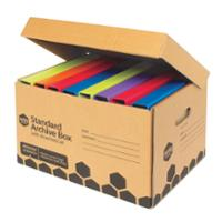 MARBIG ARCHIVE BOX  WITH LID 315x410x260MM - PACK OF 10