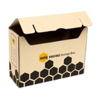 MARBIG STORAGE BOX WITH LID 135X375X260MM - PACK OF 20