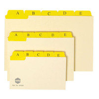 MARBIG CARD DIVIDERS A-Z/1-31 203X127MM- PACK OF 30