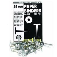 CELCO PAPER BINDERS 51MM - BOX OF 100