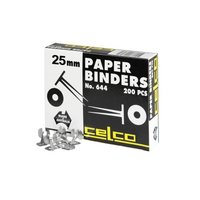CELCO PAPER BINDERS 25MM - BOX OF 200