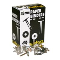 CELCO PAPER BINDERS 38MM - BOX OF 200