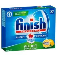 FINISH ALLIN1 DISH TABS LEMON - BOX OF 27