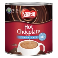 NESTLE HOT CHOCOLATE COMPLETE MIX TIN 2KG - EACH