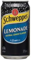 SCHWEPPES CANNED DRINKS LEMONADE 375ML - BOX OF 24