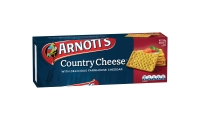 ARNOTT S BISCUITS COUNTRY CHEESE CRACKERS 250G - EACH