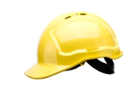 TUFFGUARD VENTED HARD HAT YELLOW - EACH