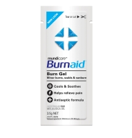 FIRST AIDERS CHOICE BURNAID BURN GEL 3.5G SACHET - PACK OF 10