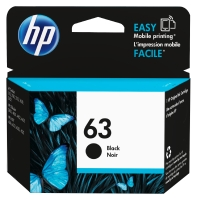 HP 63 F6U62AA INKJET CARTRIDGE BLACK - EACH