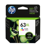 HP 63XL F6U63AA HIGH YIELD INK CARTRIDGE TRI COLOUR - EACH