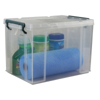 ITALPLAST STACKA STORAGE BOX PLASTIC WITH LID 20 LITRE - EACH