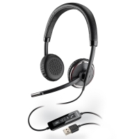PLANTRONICS BLACKWIRE C520-M STEREO WIDEBAND USB HEADSET - EACH