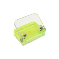 COLOURHIDE GLO MY GLOWING ACRYLIC HOLE PUNCH YELLOW - EACH