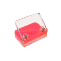 COLOURHIDE GLO MY GLOWING ACRYLIC HOLE PUNCH PINK - EACH