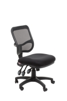 ACE EDEN MESH BACK CHAIR BLACK - EACH