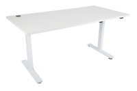 ACE LIZ SIT STAND ELECTRIC HEIGHT ADJUSTABLE DESK 1200L X 800D WHITE - EACH