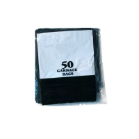 PRO-PAC BIN LINERS 240L BLACK - PACK OF 50