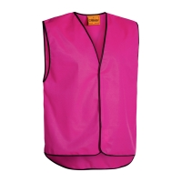 DAY VEST LARGE FLUORO PINK