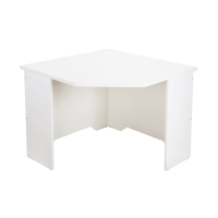 RAPID VIBE CORNER WORKSTATION 900 W X 900 W X 600 D X 730 H WHITE - EACH