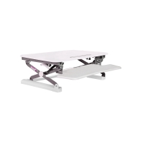 RAPIDLINE RR2 MEDIUM SIT STAND RISER WHITE - EACH