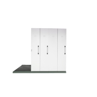 RAPIDLINE MOBILE STORAGE 4 BAY 2670L X 980W X 2150H WHITE - EACH