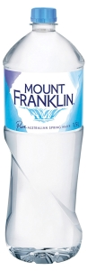 MOUNT FRANKLIN WATER STILL 600ML - PACK OF 24