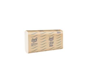 SCOTT ESSENTIALS COMPACT HAND TOWEL 110 SHEET - PACK OF 16