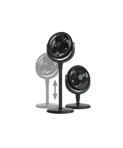 NERO BLO MULTI FAN 20CM BLACK - EACH