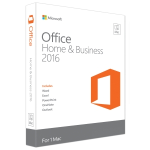 MICROSOFT OFF MAC HOME BUSINESS 1PK 2016 ENGLISH APAC NOT TO KOREA MEDIALESS