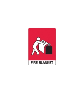 FIRE BLANKET LOCATION SIGN 300 X 225MM - EACH