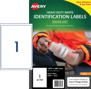 PK10 AVERY J4776 H/DUTY LAB 199.6X289.1