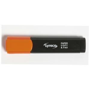 LYRECO HIGHLIGHTER 1-5MM ORANGE - BOX OF 10