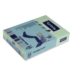 LYRECO PASTEL TINTED PAPER 80GSM A4 GREEN - REAM OF 500 SHEETS