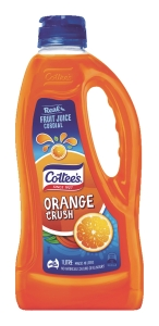 COTTEE S CORDIAL ORANGE CRUSH1 LITRE - EACH
