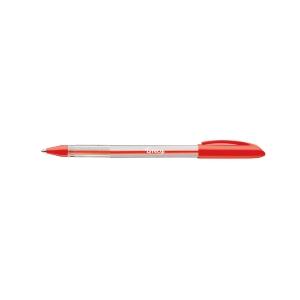 LYRECO  BALLPEN 1.0MM RED - BOX OF 12