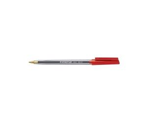 STAEDTLER STICK 430 BALLPEN 0.5MM RED - BOX OF 10