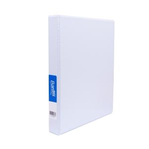 BANTEX INSERT/PRESENTATION BINDER 2D-RING 50MM A4WHITE - EACH
