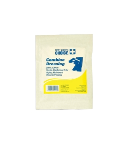 FIRST AIDERS CHOICE COMBINE PAD 20 X 20CM - EACH