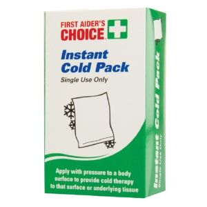 FIRST AIDERS CHOICE SINGLE USE INSTANT COLD PACK - EACH